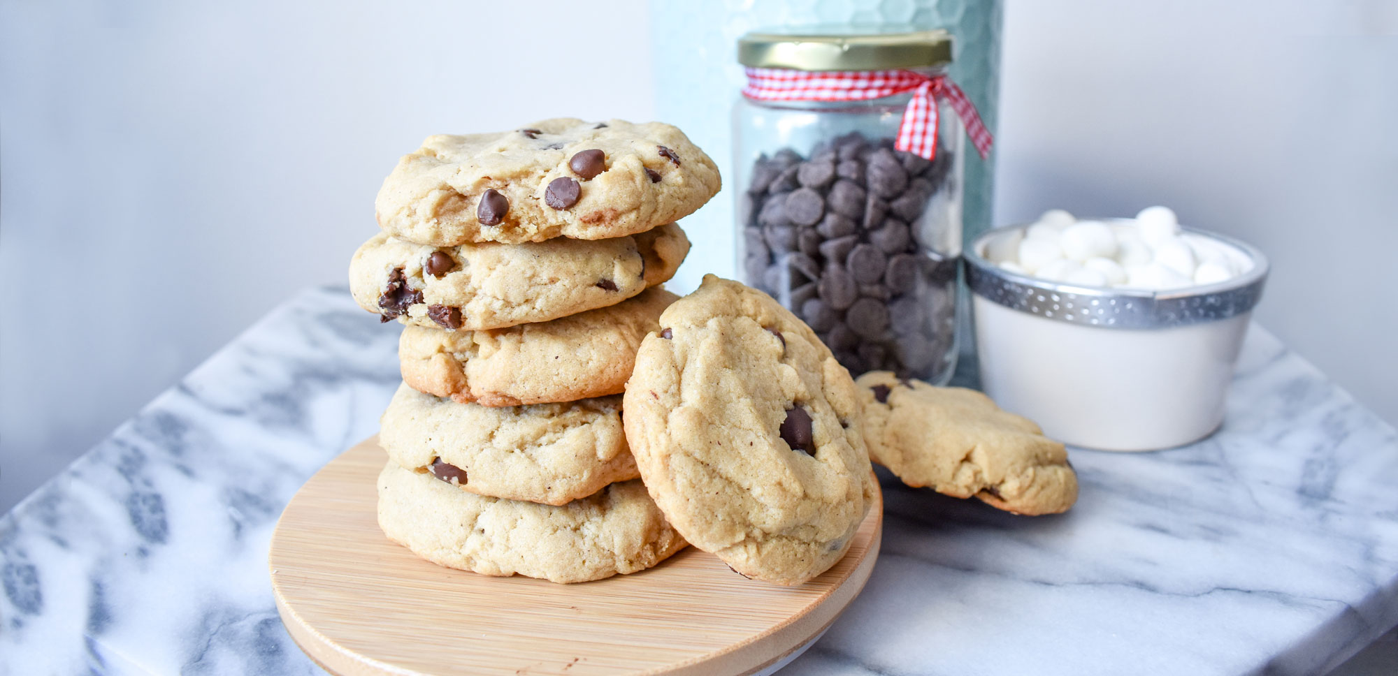 Smile Cafe Chocolate chip cookie recipe for kids diary, peanut and egg free