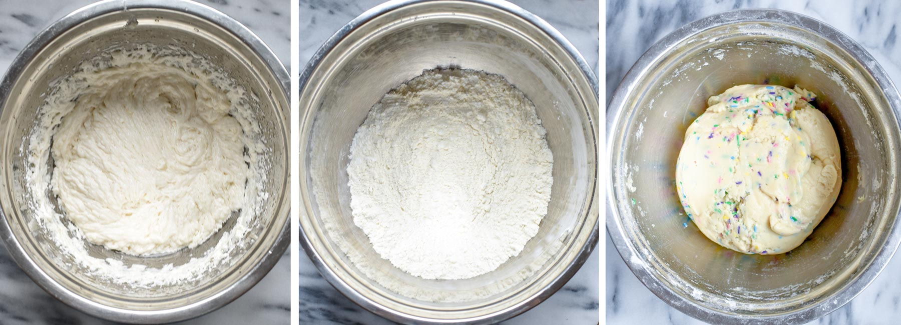 Allergy-Friendly funfetti sugar cookies method