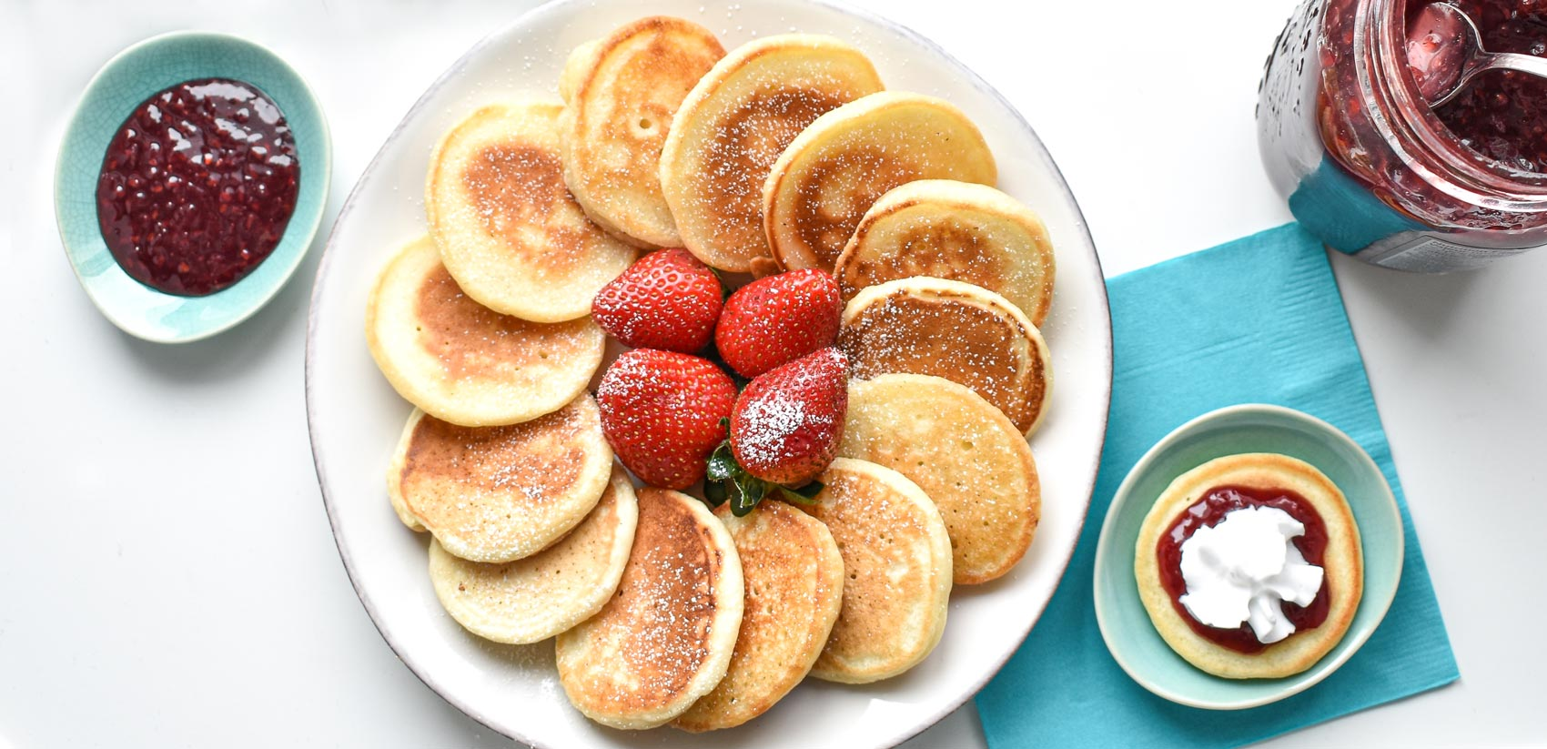 Tasty allergy free hotcakes