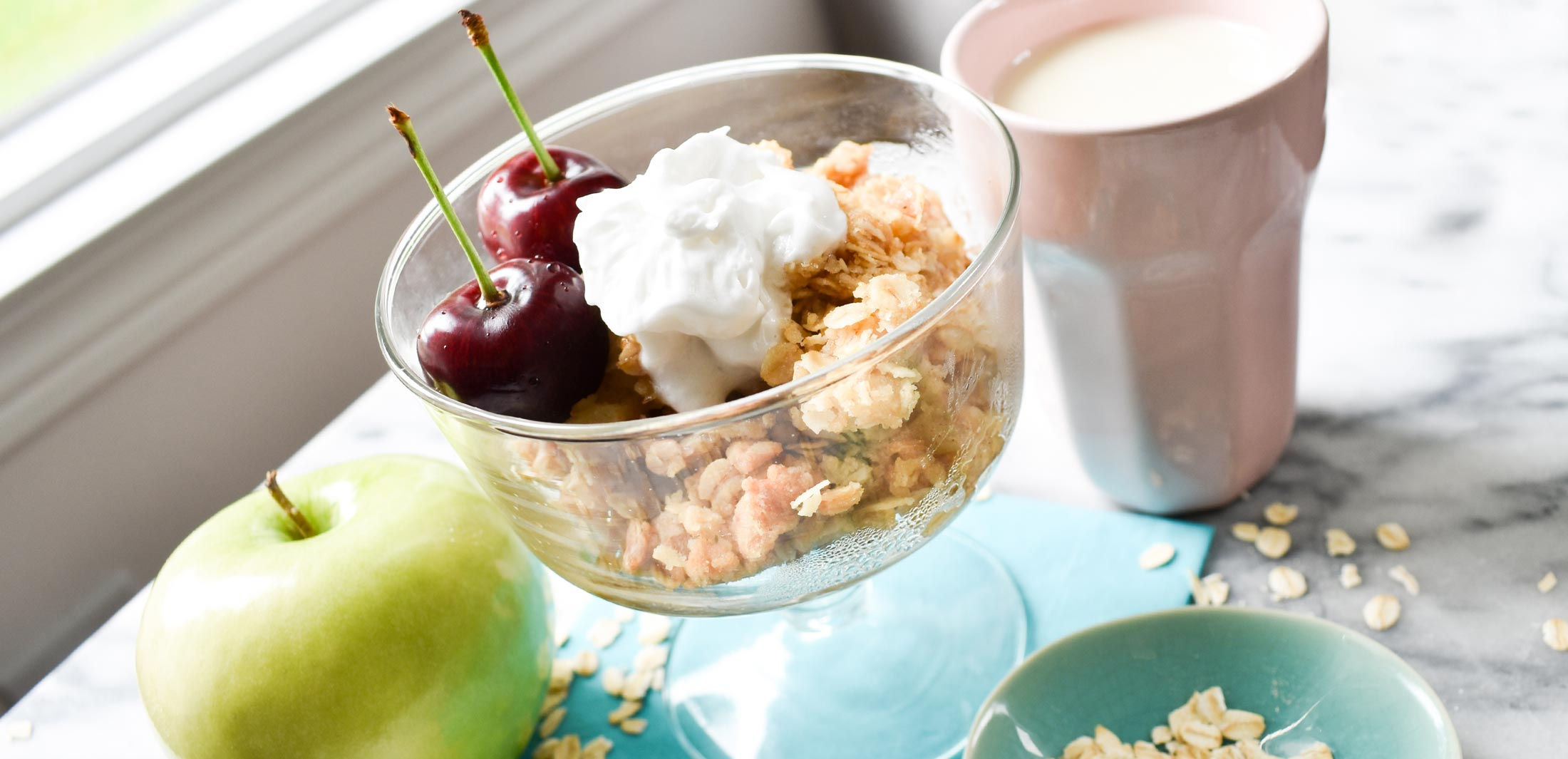 Allergy-free Apple Crumble Recipe Smile Cafe